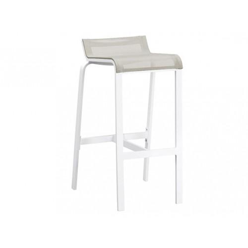 Gardenart Aluminum Padded Sling Outdoor Patio bar chair