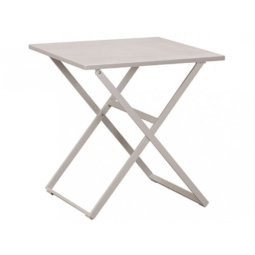 Gardenart garden furniture Outsunny Aluminum Camping Folding Camp Table with Carrying Handle