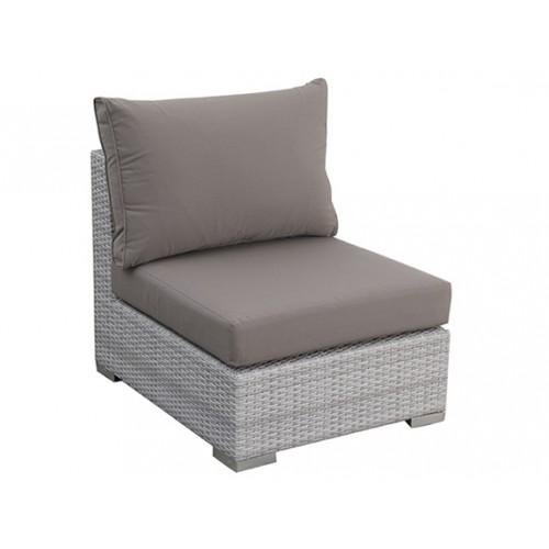 Gardenart Aluminum resin wicker middle Outdoor Sofas & Loveseats