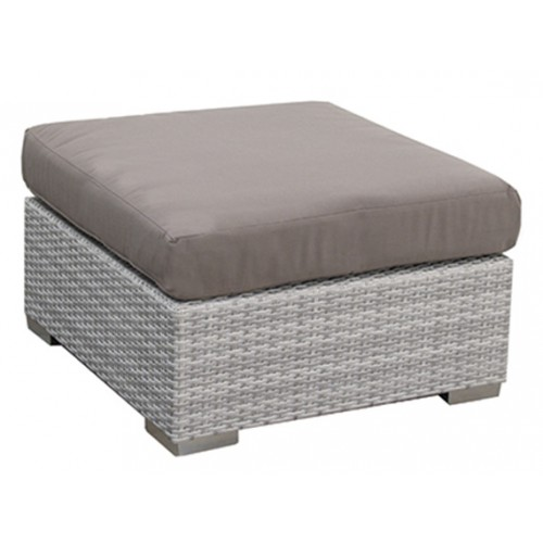 Gardenart Aluminum resin Rattan Wicker Sofa Set Garden footrest garden furniture