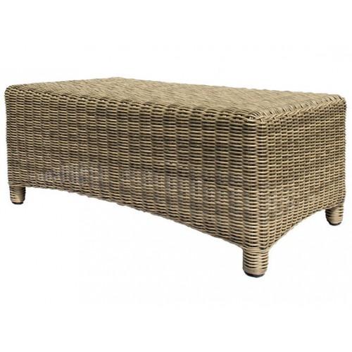 Gardenart Aluminum resin wicker tea table Chair King - wholesale Sales promotion
