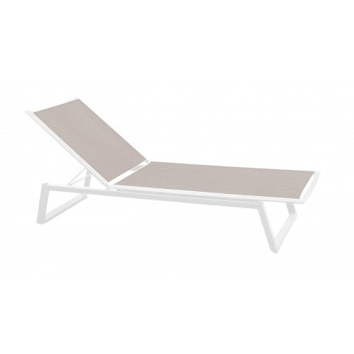 Gardenart Aluminum sling sun outdoor lounger garden furniture - wholesale Sales promotion