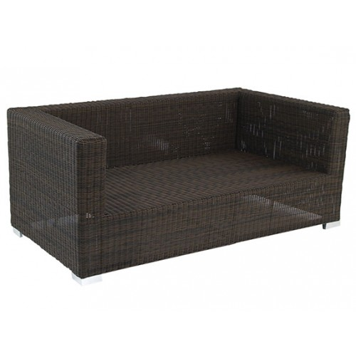 Gardenart garden furniture Aluminum resin Rattan Wicker Sofa Set Garden footrest