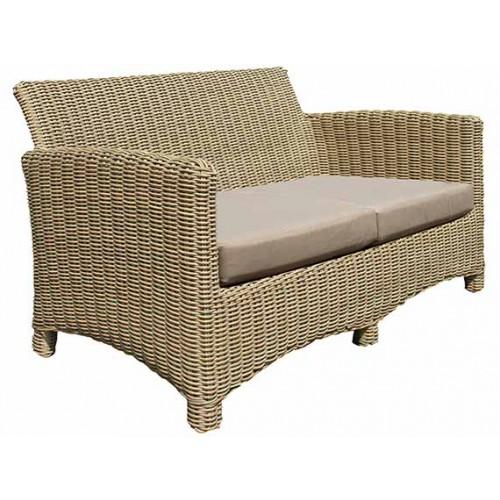 Gardenart Aluminum resin Rattan Wicker Sofa Set Garden footrest