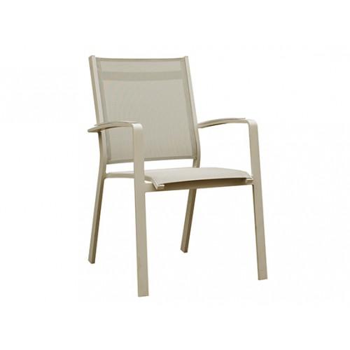 Gardenart garden furniture Aluminum sling Outdoor Dining Chairs