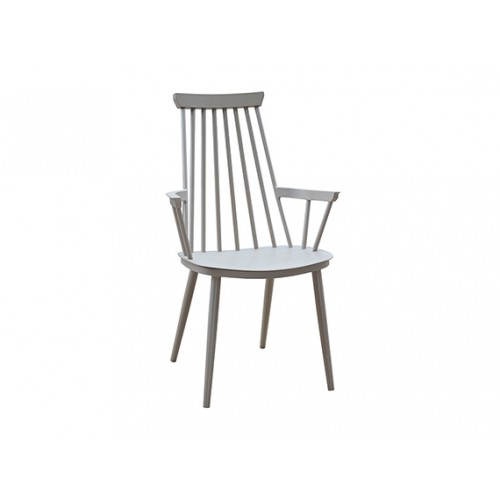 Royal Full Aluminum Dining Armchair, with KD Legs