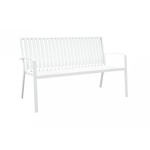Cosmo Full aluminum 2-seater bench