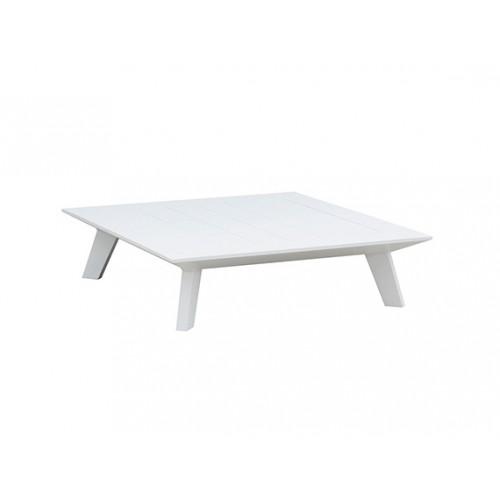 Positano aluminum coffee table, 82*82*22cm