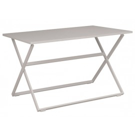 Gardenart Outsunny Aluminum Camping Folding Camp Table with Carrying Handle