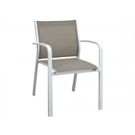 Gardenart Aluminum sling Outdoor Patio dining armchair - wholesale Sales promotion
