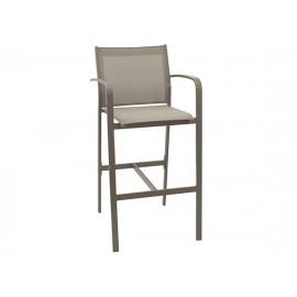 Gardenart garden furniture Aluminum Padded Sling Outdoor Patio bar chair