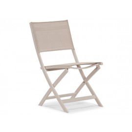 Gardenart Folding Aluminum Sling Outdoor Seating Chair