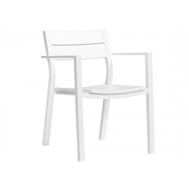 Gardenart Outdoor Aluminum Restaurant Full Aluminum dining chair