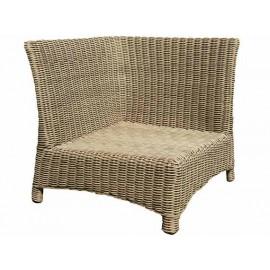 Gardenart Resin Wicker Aluminium Outdoor Garden Patio Furniture Corner Sofa