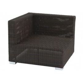 Gardenart garden furniture Resin Wicker Aluminium Outdoor Garden Patio Furniture Corner Sofa