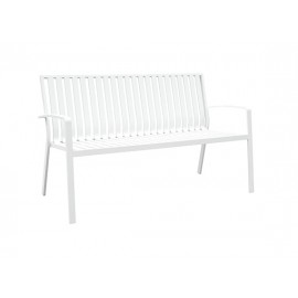Cosmo Full aluminum 2-seater bench