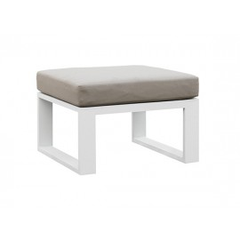 Belluno Full aluminum sofa footrest
