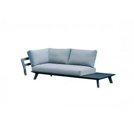 Positano aluminum sofa corner connector