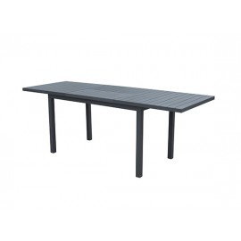 Auto Full Aluminum extension table, 156(226.5)*75cm