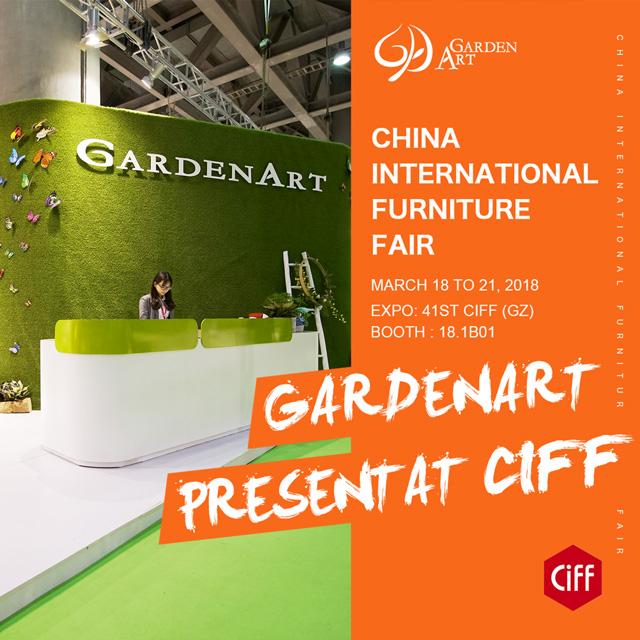 GARDENART PRESENT AT CIFF