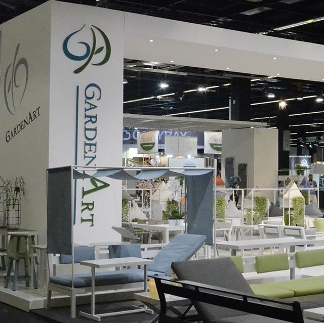 Gardenart presented the new contemporary high-quality designs for 2017