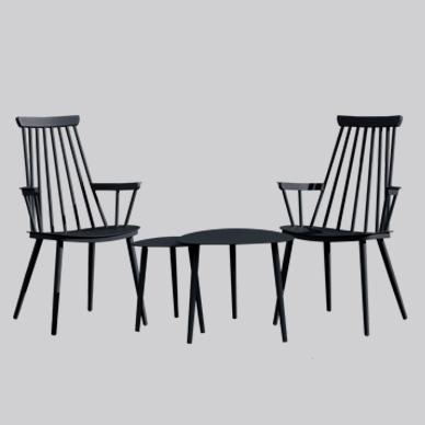 Royal silla de aluminio, reposabrazos y patas KD